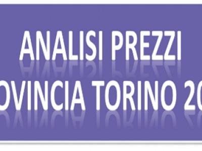 Borsino Prezzi della Provincia di Torino 2018