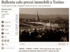 Rallenta il calo prezzi degli immobili a Torino - Ansa
